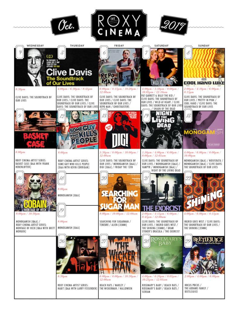 Cinema Brochure - October